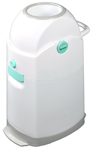Creative Baby Tidy Diaper Pail, Pearl, Pearl/Blue/White/Gray, One Size