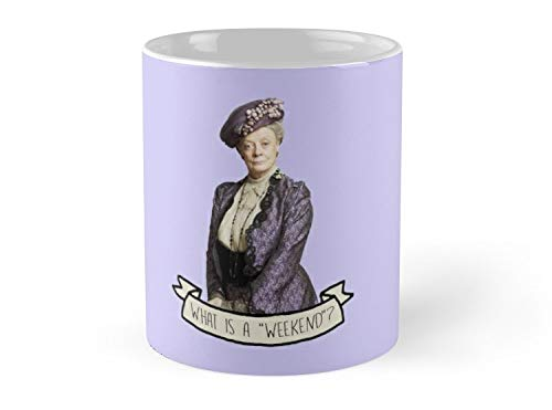 Blade South Mug - Lady Grantham Dowager Countess Violet Downton Abbey Mug - 11oz Mug - Features wraparound prints - Best gift for family friends -