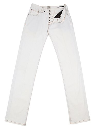new-cesare-attolini-off-white-jeans-slim-32-48