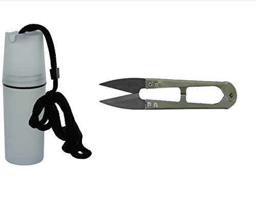 Bonsai Shear Steel Stainless (SIS BONSAI TREE TRIMMER PRUNER SHEARS - STAINLESS STEEL |1 PC | HANDS FREE CASPSULE TOTE INCLUDED | KEEP YOUR SCISSORS HANDY)