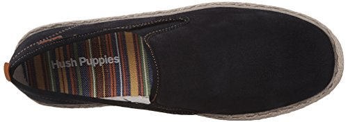Hush Puppies Mens Fet Yahman Slip-on Loafer Marinen Mocka
