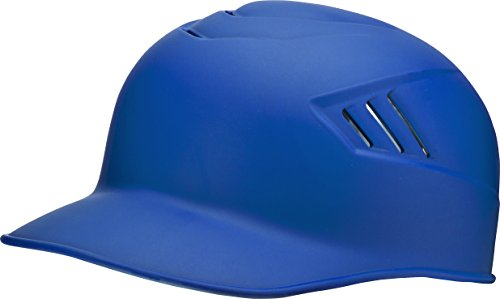 Rawlings CoolFlo Base Alpha Sized Coach Helmet, Matte Royal, Large