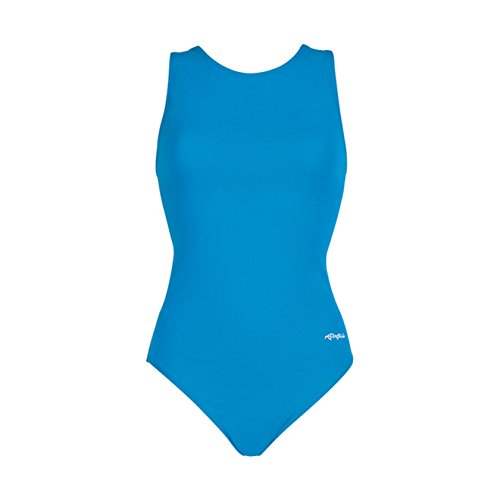 Dolfin Chloroban Conservative Lap Suit Womens Turquoise Size 14