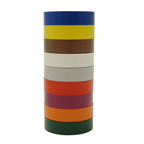 - 3M Scotch 35 Electrical Tape Rainbow Packs: 3/4 in. x 66 ft. (9-pack)