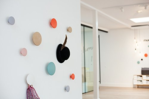 Amazon.com: Emorden Furniture The Dots - Ganchos de pared (3 ...