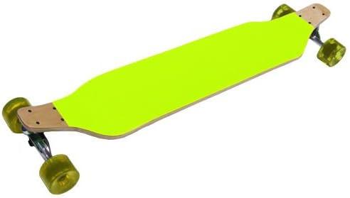 イエローLowrider RacerドロップダウンComplete Longboard 8 x 40