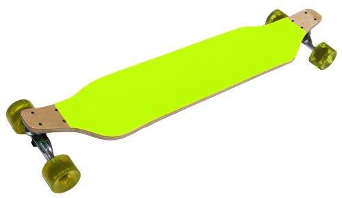 イエローLowrider RacerドロップダウンComplete Longboard 8 x 40 B01MYGW9VC