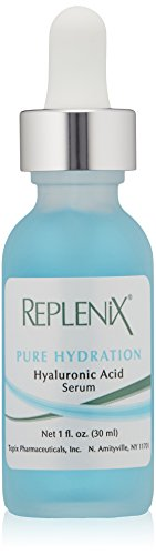 Replenix Pure Hydration Hyaluronic Acid Serum Daily Moisturizer Deeply Hydrates and Plumps for Reduced Fine Lines and Wrinkles, 1 Oz
