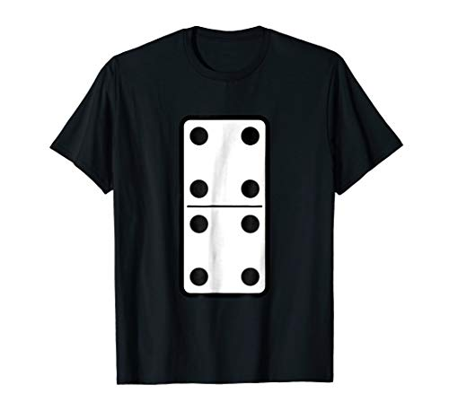 Domino Tile Piece Halloween Matching Group Costume T shirt -