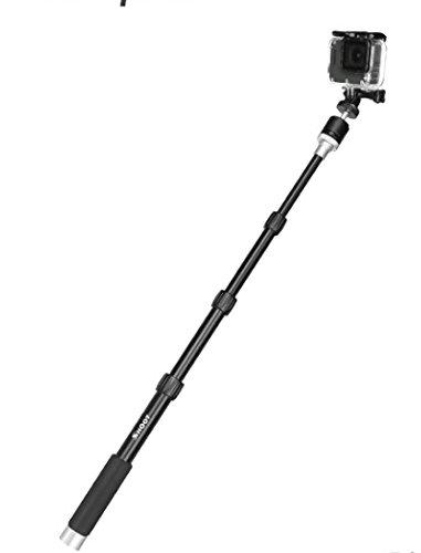 Shot - Monopié de cámara telescópica de aluminio con cabeza de ...