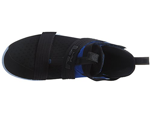 buy popular ccd43 b5dd4 NIKE Lebron Soldier 10 (GS) Hi Top Basketball Trainers 845121 Sneakers Shoes  (UK 6 EU 40, Black Game Royal 004)  Amazon.co.uk  Shoes   Bags