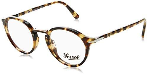 Persol PO3185V Eyeglasses 1056 Brown/Beige Tortoise w/ Demo Lens 46mm