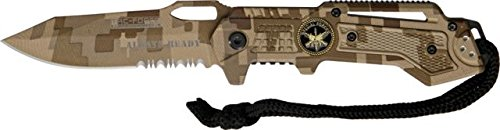 Tac Force TF-570DM Assisted Opening Folding Knife 4.5-Inch (Special Tactical Digital Camo Handle)