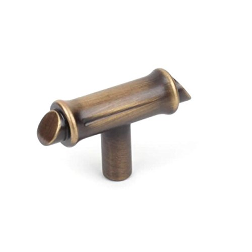 nch T-Knob Bamboo Cabinet Hardware. US patenet Design, 27819-IB-Imperial Bronze-Value Pack of 4 (2 Inch Bamboo Cabinet Knob)