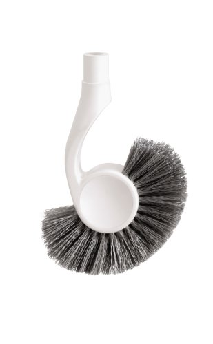 simplehuman Toilet Brush Replacement Head, White