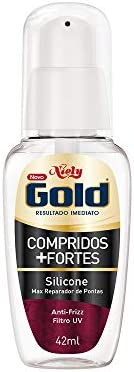 Gold Silicone Compridos + Fortes, 42 ml, Niely, Niely
