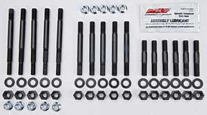 ARP 2345601 Main Stud Kit, 200,000 PSI Chrome Moly Steel, For Select Chevrolet Small Block 4-Bolt Main Applications, Large Journal, With Windage Tray