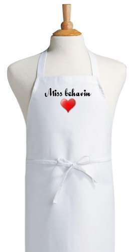 Miss Behavin Naughty But Cute Aprons For Women