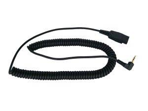 (2.5 MM Headset Bottom Cord for GN Netcom/Jarba, Smith Corona Classic Series, VXI G Series)