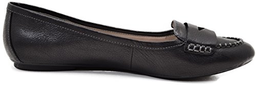 Penny Sofft Cecille Womens 9 Loafer Med BLK Black xqC8wS