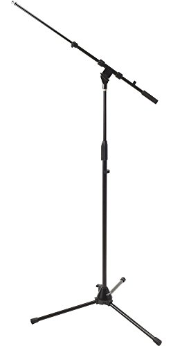 DR Pro Tripod Mic Stand with Telescoping Boom - 2 Pack