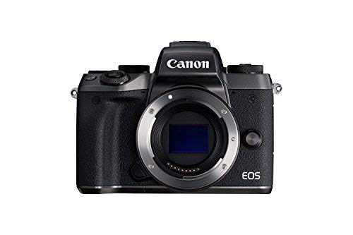 Canon EOS M5 Mirrorless Wi-Fi Enabled, Built-in Bluetooth Digital Camera Body Only International Version (No Warranty…