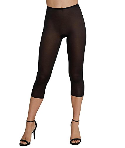 SPANX Skinny Britches Capri (10059R) M/Very Black