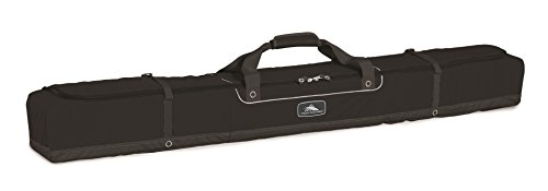 Deluxe Series Single (High Sierra Deluxe Single Ski Bag Ski Bag, Black)