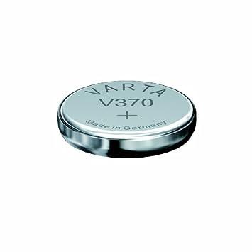 VARTA-Lote de pilas de óxido de plata para relojes V370 SR69 (1,55) v: Amazon.es: Salud y cuidado personal