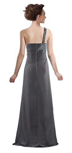 ANTS The Dresses Bride of Formal Long Black Women's Shoulder Mother One qXrwXax4