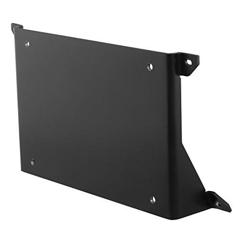 ARIES 2169000 Black AdvantEDGE Bull Bar License Plate Bracket