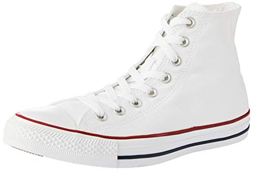 - Converse Mens Chuck Taylor All Star High Top, 6 D(M) US, Optical White