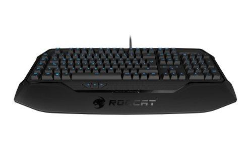 ROCCAT Ryos MK Glow – Illuminated Mechanical Gaming Keyboard - BLACK CHERRY MX Key Switch