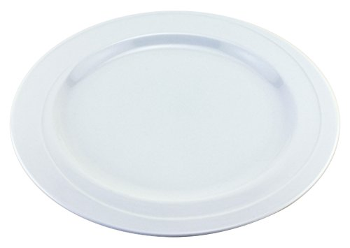 BergHOFF Elan Charger Plate with Wide Rim, 12'', White