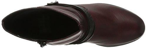 D3184 Rosso Altsilber silber Schwarz Delle Donne Stivali 35 Schwarz Fumo Rosso chianti Caviglia Remonte dUxRwFX