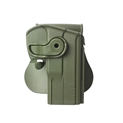 Taurus 24/7 G2 Pistols Retention Roto Holster and a genuine IGWS's firing range earplugs kit.