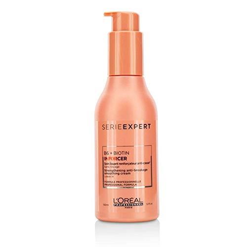 (Glamorous Mart - L'Oréal B6 + Biotin InforcerStrengthening Anti Breakage Smoothing Cream 150 mL)