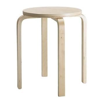 Ikea Sgabelli In Legno.Ikea Frosta Sgabello In Legno Compensato Di Betulla