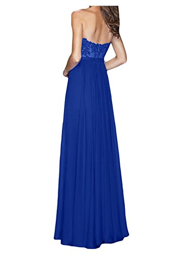 Partykleider Blau mia Lang Gruen Chiffon Herzausschnitt Braut Olive Abendkleider Brautjungfernkleider Cocktailkleider La Damen 8OxqAC