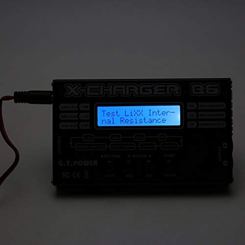 Wikiwand G.T.Power C6 LCD Charger for 1-6S LiPO/Li-ION 1-15S NiCD/NiMH RC Battery by Wikiwand (Image #4)