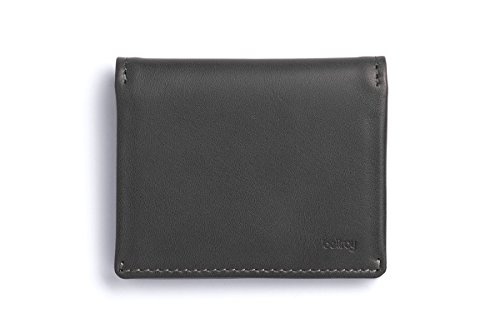 Bellroy Leather Slim Sleeve Wallet Charcoal