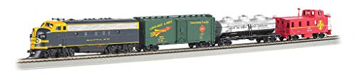 (Bachmann Trains - Thunder Chief DCC Sound Value Ready To Run Electric Train Set - HO)