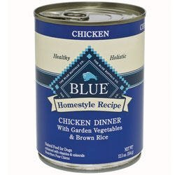 Blue Buffalo Chicken & Brown Rice Canned Dog Food 12.5oz by Blue Buffalo by Blue Buffalo