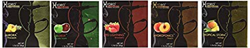 250g, 5 Mix: Apple, Strawberry, Mango, Peach & Pineapple, Hookah Shisha Tobacco Free Molasses