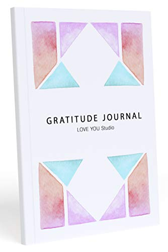 Gratitude Journal, Inspirational Book, Self Help, Self Care Gifts for Women, Mindfulness Journal, Journal for Women, Writing Prompt Journal, Quotes + Exercises + Practices by LOVE YOU Studio