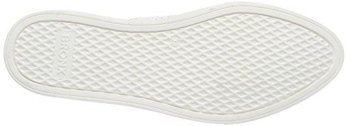 weiß 04 White Donna Sneaker Bianco Bronx Basse Bmecx qfHwcYX