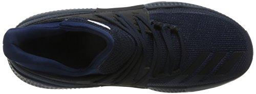 adidas D Lillard 3, Scarpe da Basket Uomo, Blu (Azumis/Negbas/Ftwbla), 40 EU