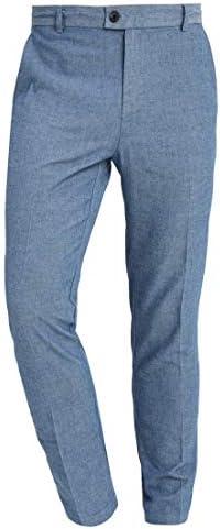 Pier One Pantalon De Tela Para Hombre Chinos De Negocio Slim Fit Azul Oscuro Talla 29 Amazon Es Ropa Y Accesorios