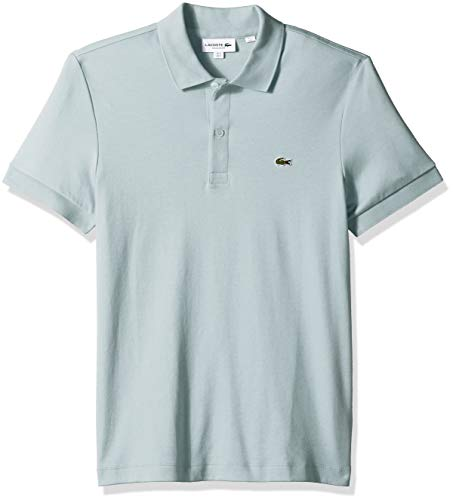 (Lacoste Men's S/S PIMA Jersey Polo Interlock REG, Aquarium XX-Large)