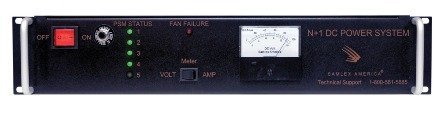 Samlex SEC-80BRM Rackmount 80A AC/DC Power Supply with Battery Backup, Provides N + 1 redundancy, Voltage/Ampere meter display, Highly regulated output voltage